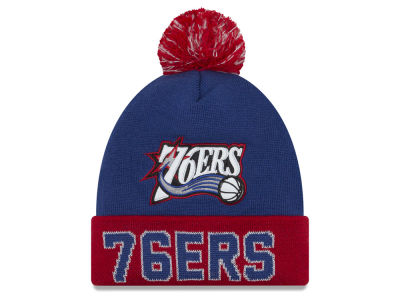 Philadelphia 76ers NBA Hardwood Court Big Reflective Knit Hats