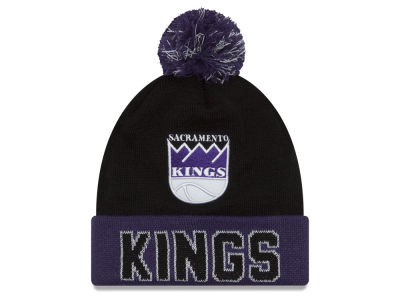 Sacramento Kings NBA Hardwood Court Big Reflective Knit Hats