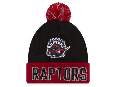 Toronto Raptors NBA Hardwood Court Big Reflective Knit Hats