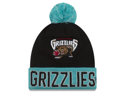 Vancouver Grizzlies NBA Hardwood Court Big Reflective Knit Hats