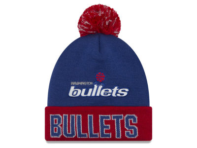 Washington Bullets NBA Hardwood Court Big Reflective Knit Hats
