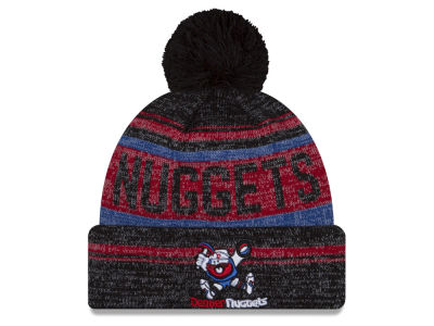 Denver Nuggets NBA Hardwood Court Snow Dayz Knit Hats