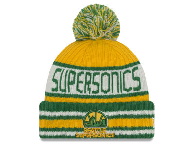 Seattle SuperSonics NBA HWC Jacoby Knit Hats
