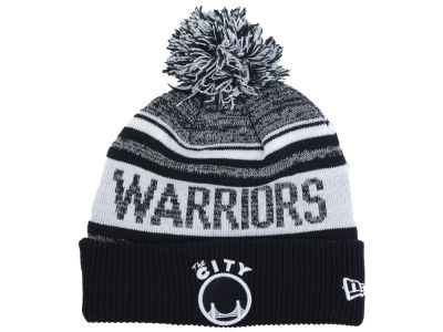 Golden State Warriors NBA Hardwood Classic White Out Knit Hats