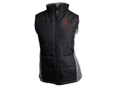 J America NCAA Women's Quilted Vest