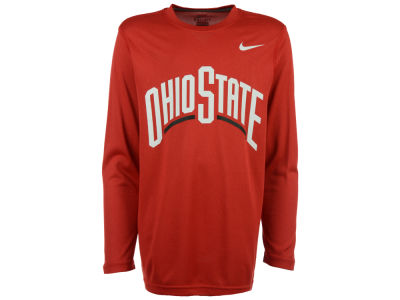 Nike NCAA Youth Legend Wordmark Long Sleeve T-Shirt