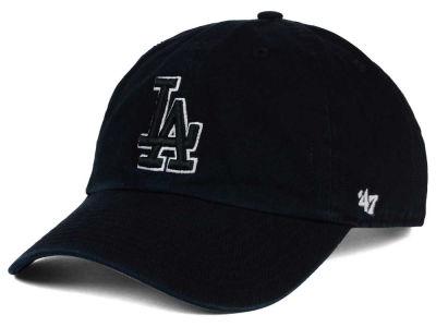 Los Angeles Dodgers '47 MLB Black White Black '47 CLEAN UP
