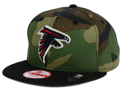 Atlanta Falcons NFL Camo Two Tone 9FIFTY Snapback Cap Hats