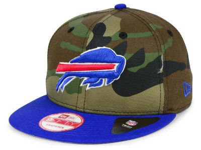 Buffalo Bills NFL Camo Two Tone 9FIFTY Snapback Cap Hats