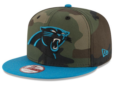 Carolina Panthers NFL Camo Two Tone 9FIFTY Snapback Cap Hats