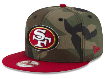 San Francisco 49ers NFL Camo Two Tone 9FIFTY Snapback Cap Hats