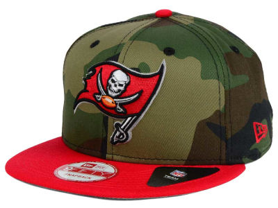 Tampa Bay Buccaneers NFL Camo Two Tone 9FIFTY Snapback Cap Hats