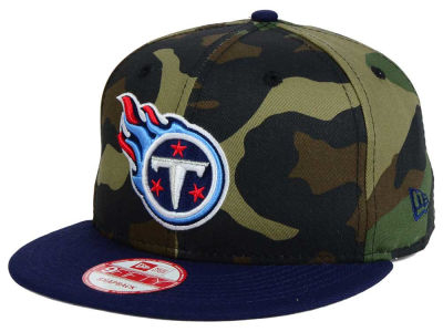 Tennessee Titans NFL Camo Two Tone 9FIFTY Snapback Cap Hats
