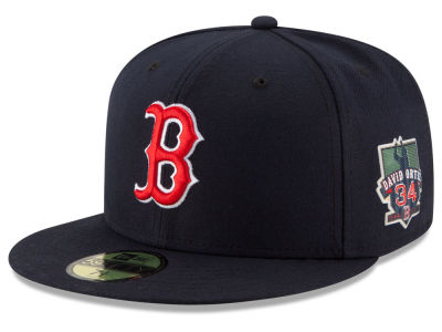 Boston Red Sox David Ortiz MLB Ortiz On-Field AC Patch 59FIFTY Cap Hats