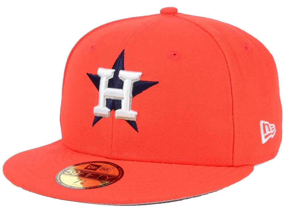 new product c4c74 b4edb hot sale 2017 Houston Astros New Era MLB Alternate Collection 59FIFTY Cap