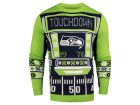 Seattle Seahawks Forever Collectibles NFL Men's Light Up Ugly Crew Neck Sweater Sweatshirts