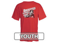 J America NCAA Youth Scarlet & Grey All Day T-Shirt T-Shirts
