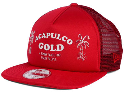 Acapulco Gold Palm Tree Trucker 9FIFTY Snapback Cap Hats