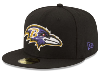 Baltimore Ravens NFL Team Basic 59FIFTY Cap Hats