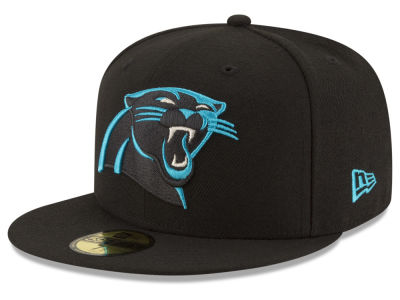 Carolina Panthers NFL Team Basic 59FIFTY Cap Hats