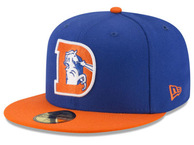 Denver Broncos NFL Team Basic 59FIFTY Cap Hats
