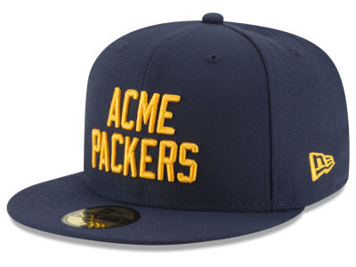 Green Bay Packers NFL Team Basic 59FIFTY Cap Hats