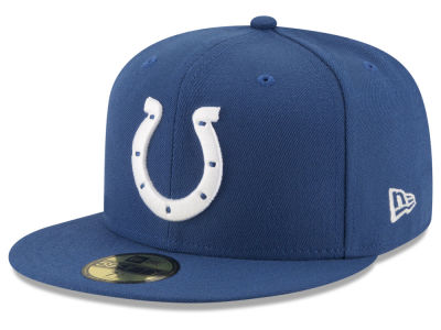 Indianapolis Colts NFL Team Basic 59FIFTY Cap Hats