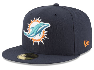 Miami Dolphins NFL Team Basic 59FIFTY Cap Hats
