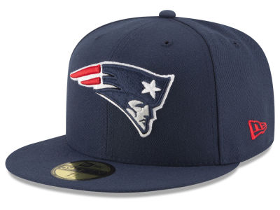 New England Patriots NFL Team Basic 59FIFTY Cap Hats