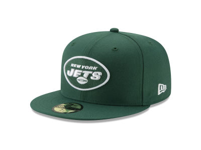 New York Jets NFL Team Basic 59FIFTY Cap Hats