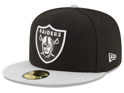 Oakland Raiders NFL Team Basic 59FIFTY Cap Hats