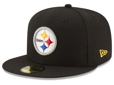 Pittsburgh Steelers NFL Team Basic 59FIFTY Cap Hats