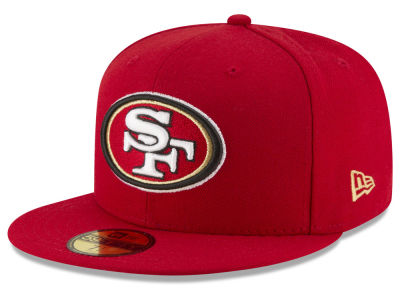 San Francisco 49ers NFL Team Basic 59FIFTY Cap Hats