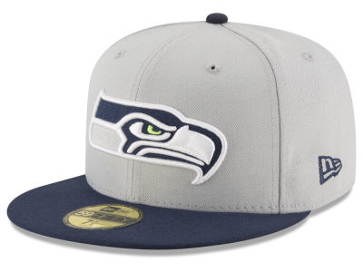 Seattle Seahawks NFL Team Basic 59FIFTY Cap Hats