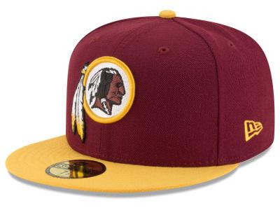 Washington Redskins New Era NFL Team Basic 59FIFTY Cap  66718acb72f0