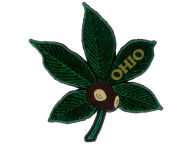 Buckeye Leaf Magnet Pins, Magnets & Keychains