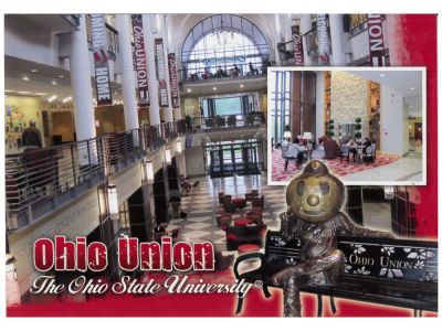 Union Collage Postcard