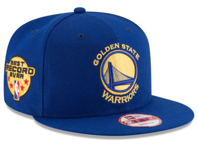 Golden State Warriors NBA 73-9 Best Record Ever 9FIFTY Snapback Cap Hats