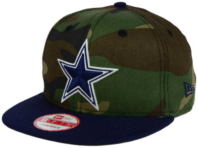 Dallas Cowboys NFL Camo Two Tone 9FIFTY Snapback Cap Hats