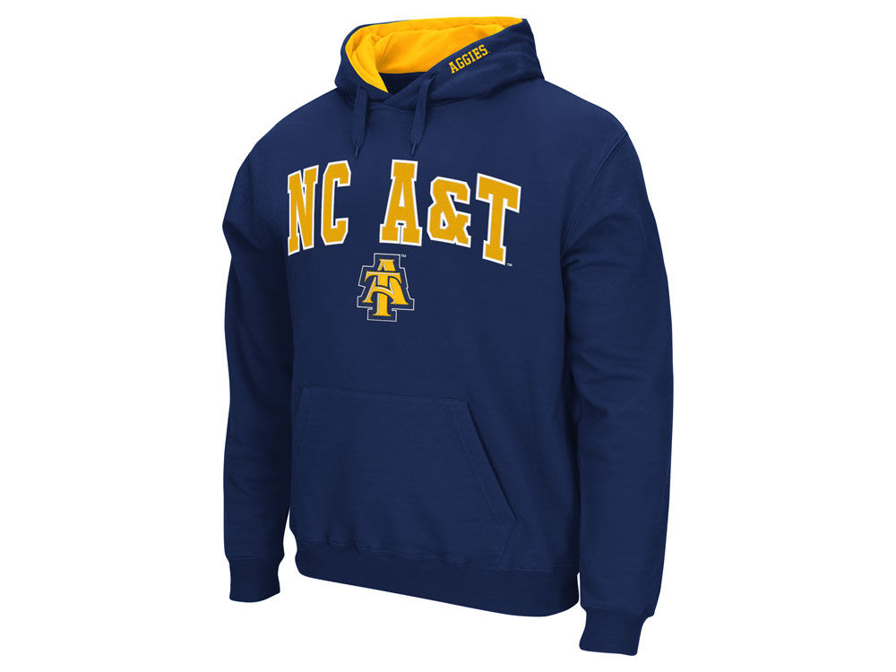 outlet store f1d58 3c21b North Carolina A T Aggies NCAA Men s Arch Logo Hoodie well-wreapped.