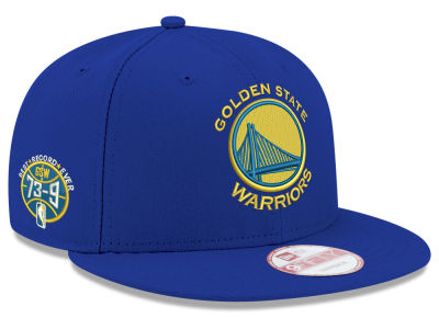 Golden State Warriors NBA GSW 73-9 Collection 9FIFTY Snapback Cap Hats