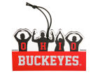 Ohio State Buckeyes O-H-I-O Sculpted Ornament Holiday