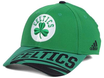 big sale e3a77 978d3 Boston Celtics adidas NBA Layup Flex Cap   lids.com