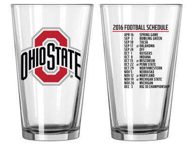 Boelter Brands 2016 Football Schedule Pint Glass
