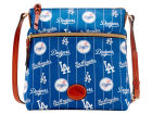 Los Angeles Dodgers Dooney & Bourke Nylon Crossbody Bag Apparel & Accessories