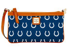 Indianapolis Colts Dooney & Bourke Large Dooney & Bourke Wristlet Luggage, Backpacks & Bags