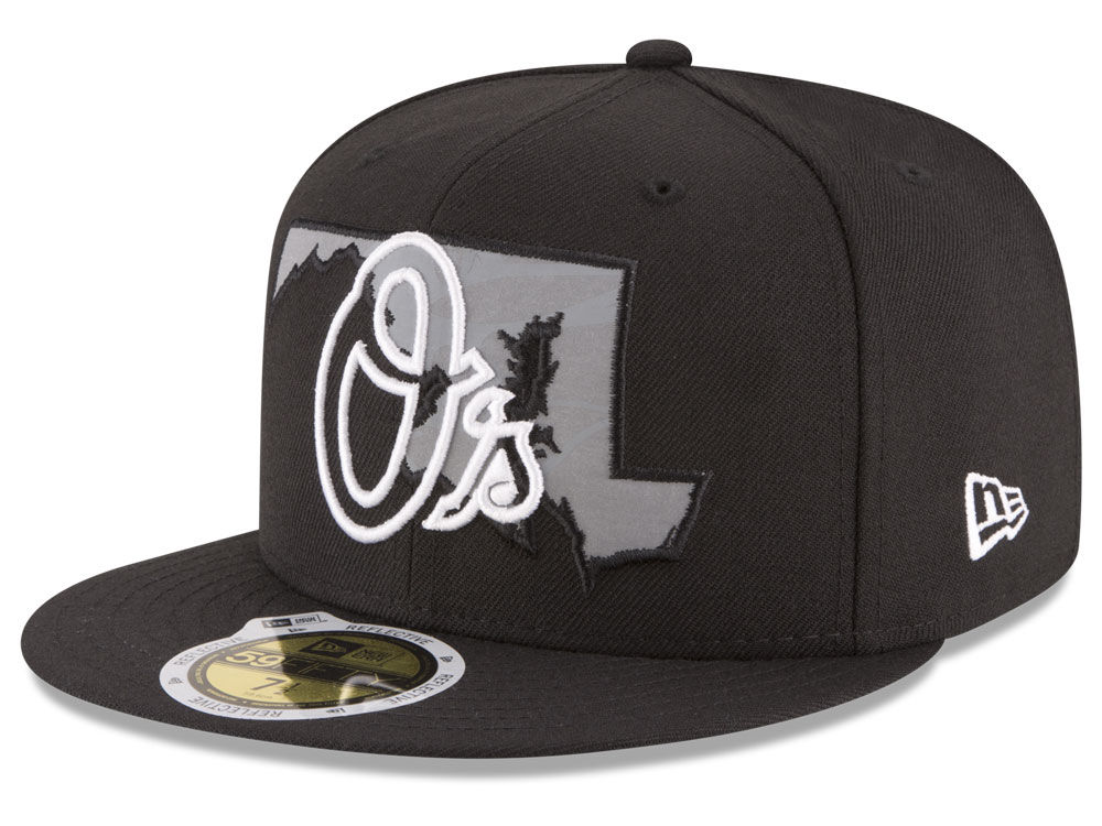 ea2e2b05db93f on sale Baltimore Orioles New Era MLB State Reflective Dub 59FIFTY ...