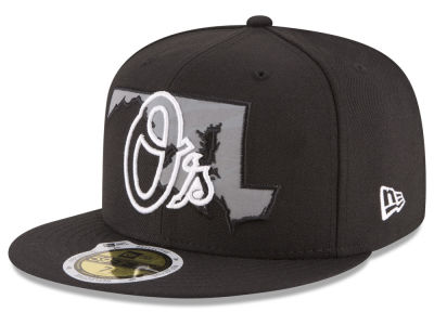Baltimore Orioles MLB State Reflective Dub 59FIFTY Cap Hats