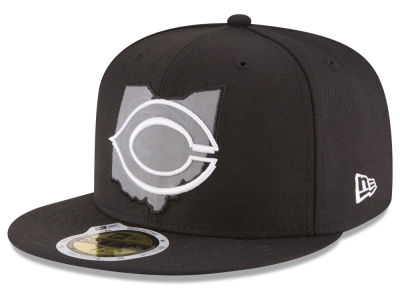 Cincinnati Reds MLB State Reflective Dub 59FIFTY Cap Hats