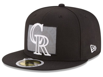 Colorado Rockies MLB State Reflective Dub 59FIFTY Cap Hats